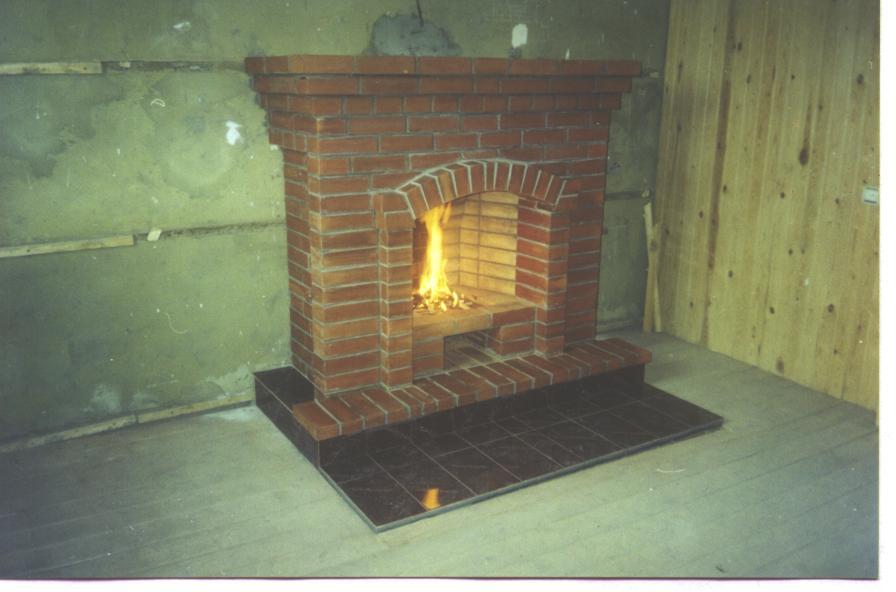 Камин из газовой плиты своими руками 6